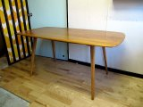 UK ERCOL DINING TABLE TA0290