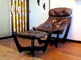 DK Chair & ottoman SE0368