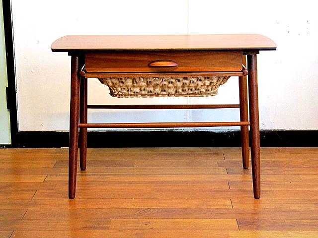 画像1: DK Sewing Table OH0092