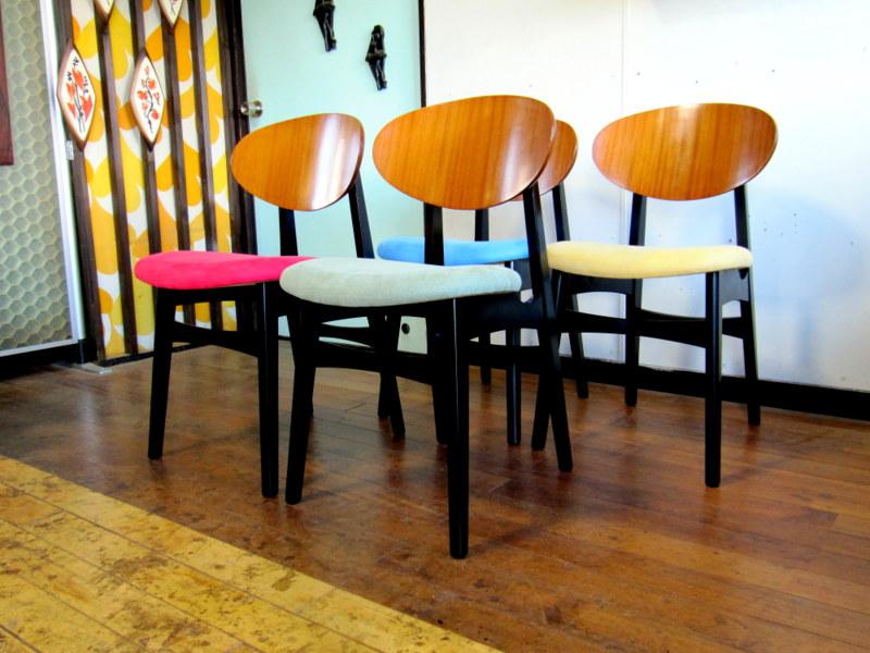 画像1: DK Dining Chair set SE0418