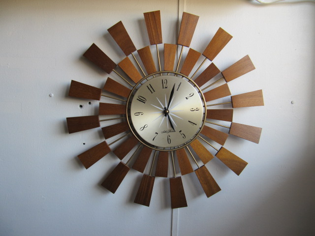 画像1: USA WALL CLOCK  OH0038
