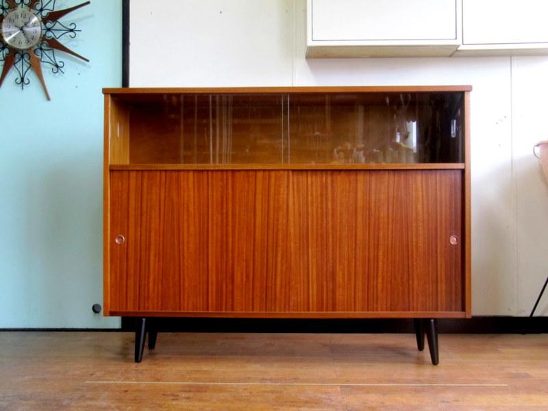 画像1: UK Glass cabinet FF0972